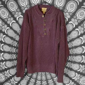 Redhead Burgundy sweater